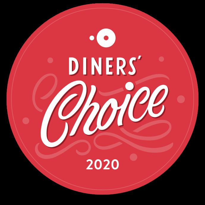 OpenTable Diners Choice Award Winner 2020