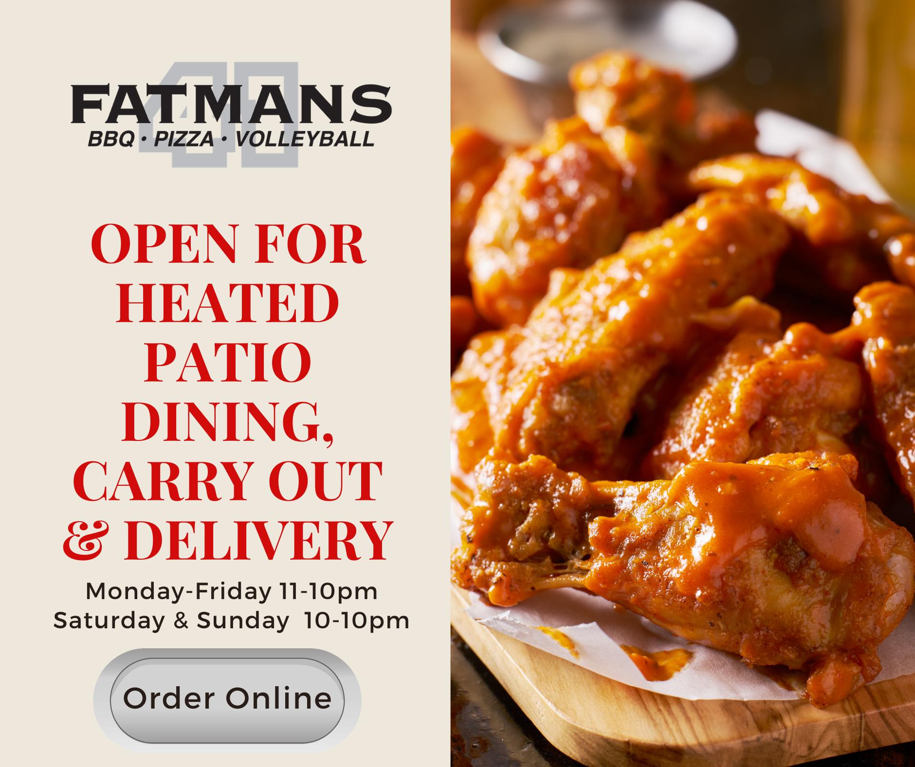 Fatmans Order Online