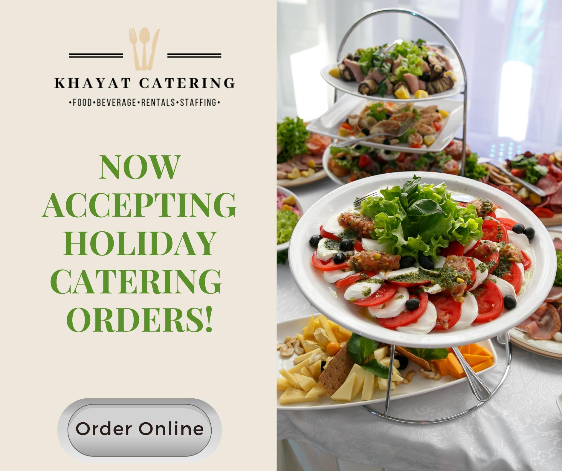 Khayat Catering Order Online